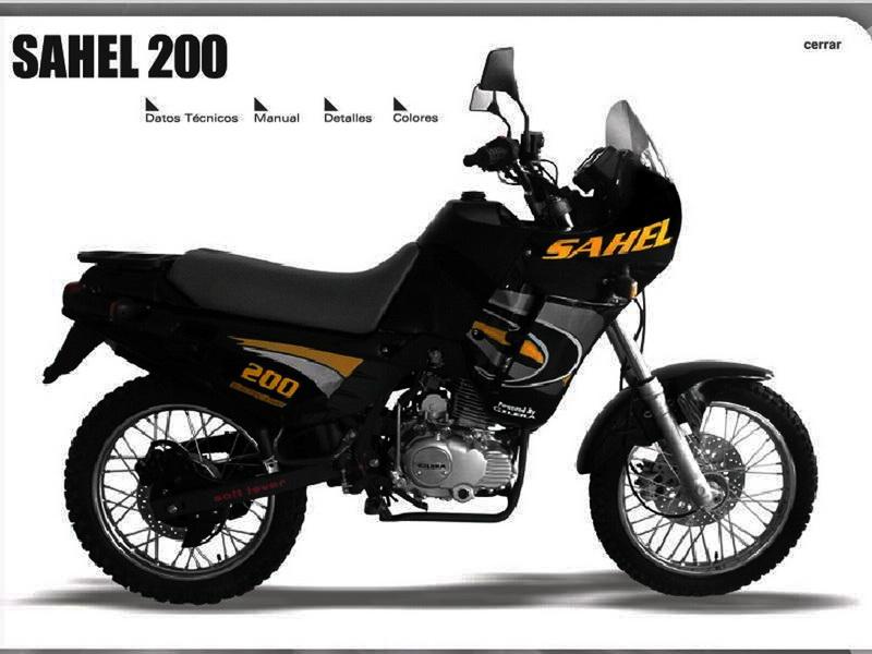 sahel-200-gilera